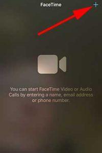 FaceTime plus screenshot
