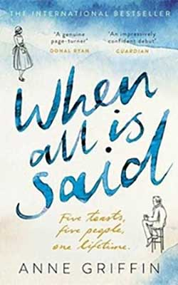 When all is said - book cover